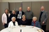 Audrey I, Carol S, Diane K, Jeanne P, Joann P, Steve C, Jim B, and John M were on hand for a celebration of Donn Stansbury's life on January 31, 2014.
