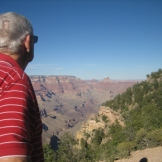 Retired StuDev counselor Clete Hinton of Show Low, AZ, is a real rock hound!