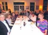 Snowbird retirees meet up in Naples FL, Feb'16: Dom & Lee M, Sally G, Bruce B, Russ M, Judy D, Kipp H & Bonnie H, Marcia L.