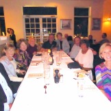 Snowbird retirees meet up in Naples FL, Feb'16: Dom & Lee M, Sally G, Bruce B, Russ M, Judy D, Kipp H & Bonnie H, Marcia L.