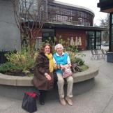 Diane Kinn visited Marlene Hunt (retired from Graphics '98) in Puget Sound, WA, in March 2016. Marlene makes silver jewelry and teaches yoga.