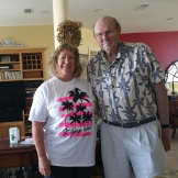 Jeanne Pankanin visited John Gelch near St George Island, FL, in March 2016.
