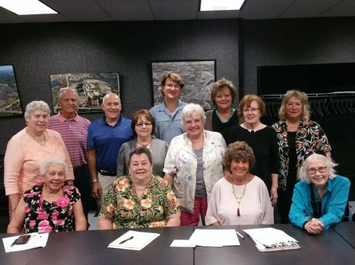 Meet your 2017 HCAA Board! L-R (front) Diane K, Hazel R, Bonnie H, Betty H. L-R (back) Sharon M, Steve C, Bruce B, Linda K, Michael N, Pat W, Judy L, Frances B, Jeanne P. Not Pictured: Julie H, Sarah S.