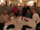 "Feb'17 near Phoenix AZ -- ""Harper Southwest"" retirees Clete Hinton+Joan L, Steve Catlin, Helen+Ed Dolan, Carole+Tom Johnson."