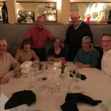 "Feb'17 near Phoenix AZ -- ""Harper Southwest"" retirees Clete Hinton+Joan L, Steve Catlin, Helen+Ed Dolan, Carole+Tom Johnson."